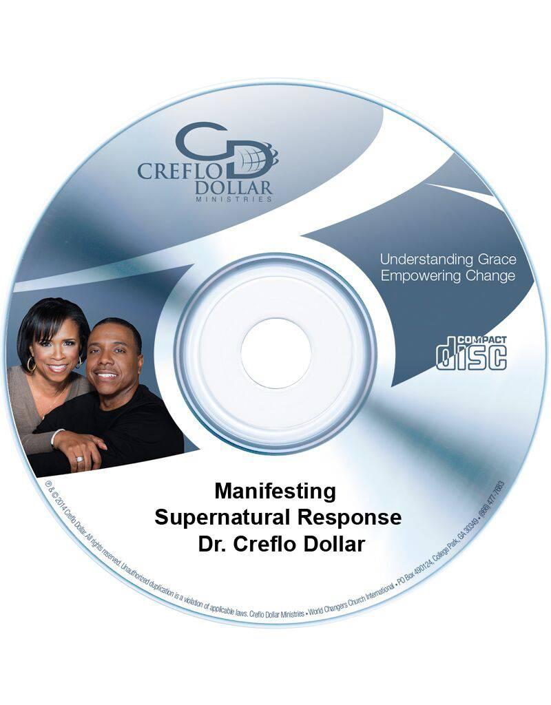 Manifesting Supernatural Response - Single CD
