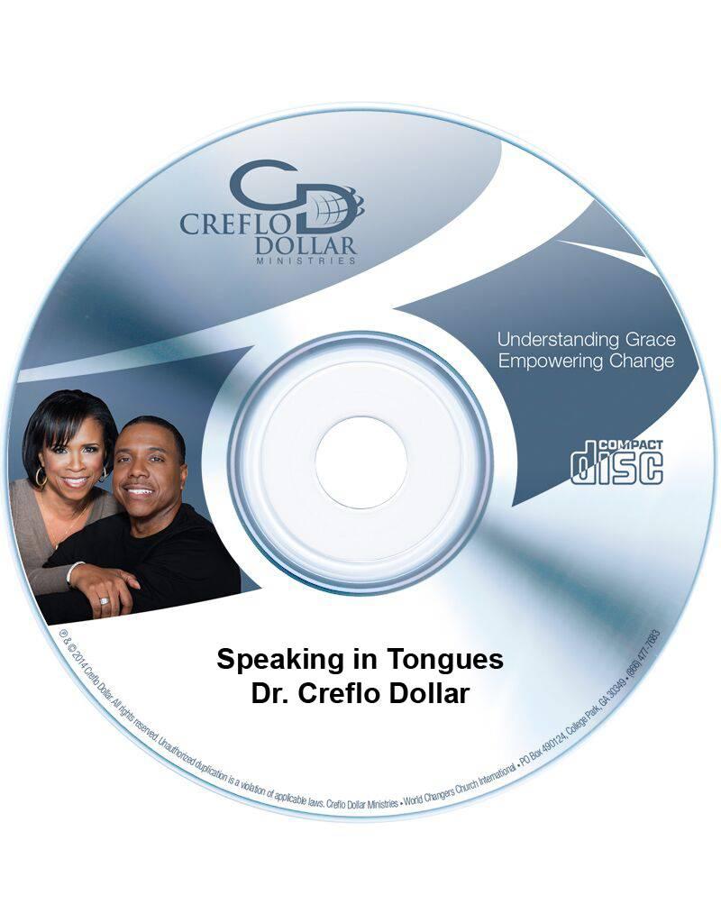Speaking in Tongues - CD Single