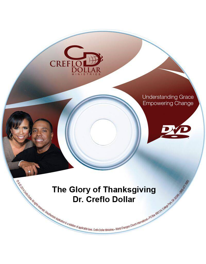 The Glory of Thanksgiving - DVD Single