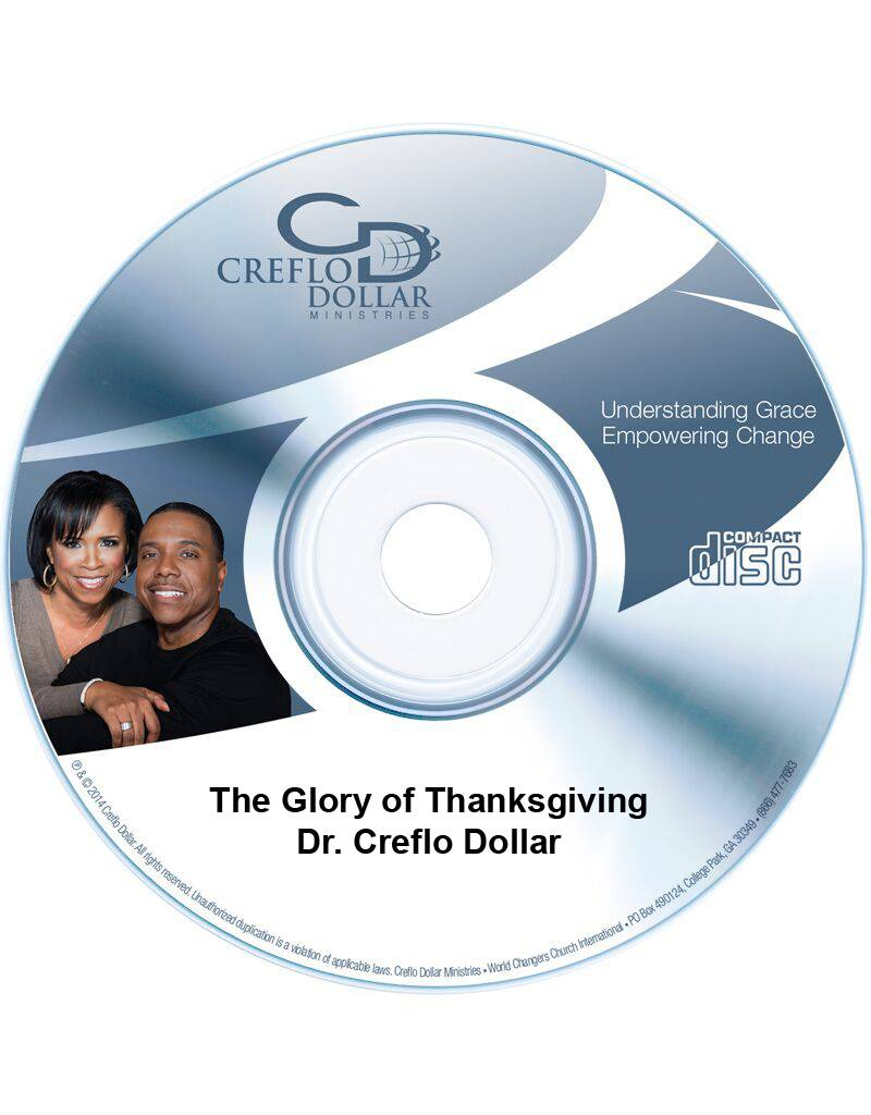 The Glory of Thanksgiving - CD Single