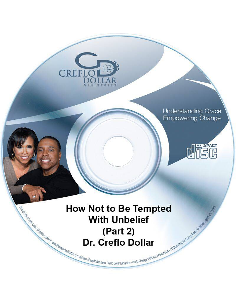 How Not to Be Tempted With Unbelief (Part 2) - CD Single