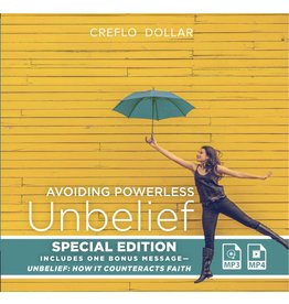 Avoiding Powerless Unbelief: Special Edition - MP3/4 USB Series
