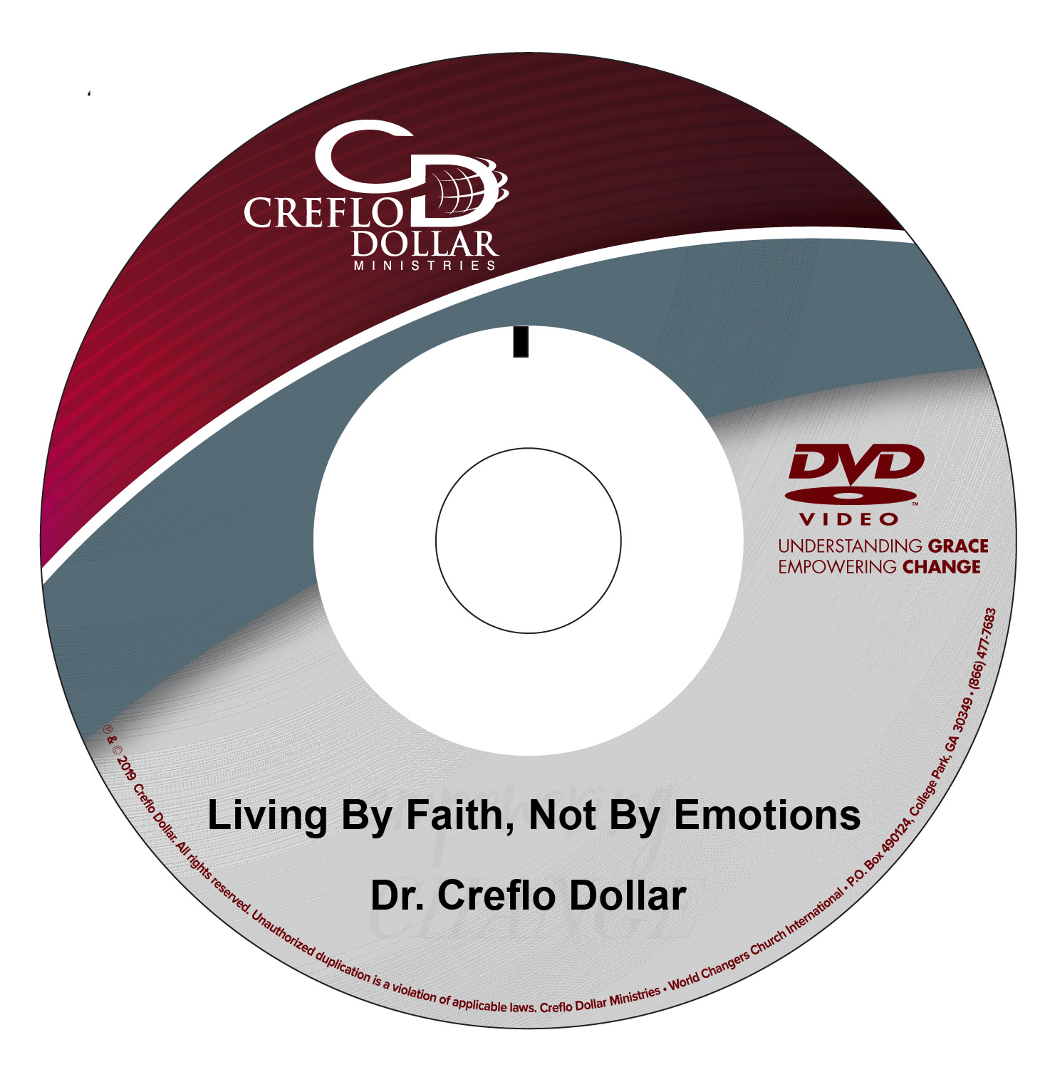 Living By Faith, Not By Emotions - DVD Single