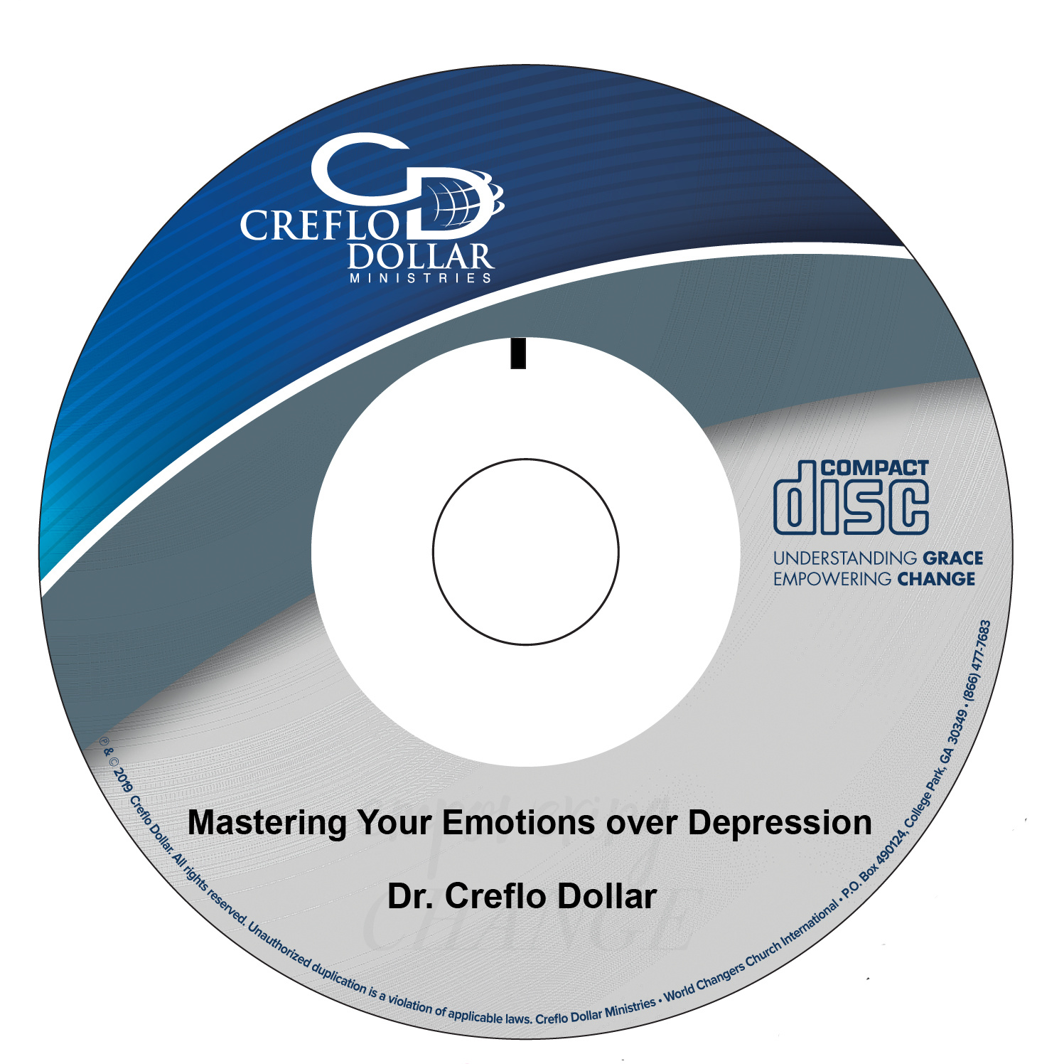 Mastering Your Emotions over Depression - CD Single