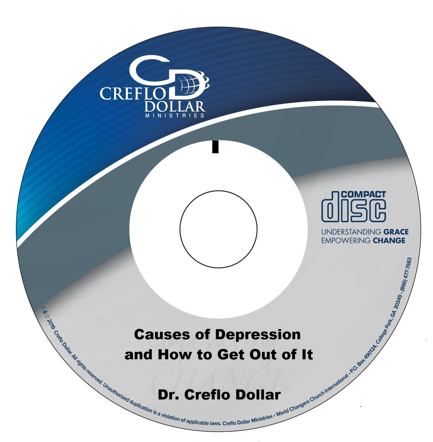 Causes of Depression and How to Get Out of It - CD Single