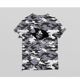 Radical V-Neck Camo Tee (White)