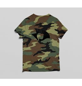 Radical V-Neck Camo Tee (Green)