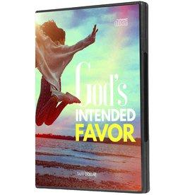 God's Intended Favor- 3 CD Series