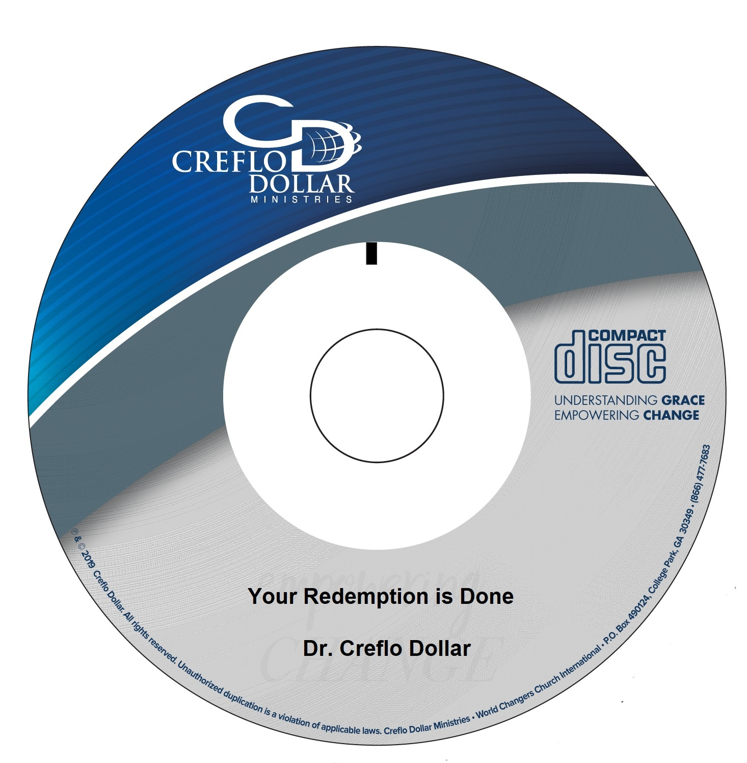 Your Redemption is Done - Single Message