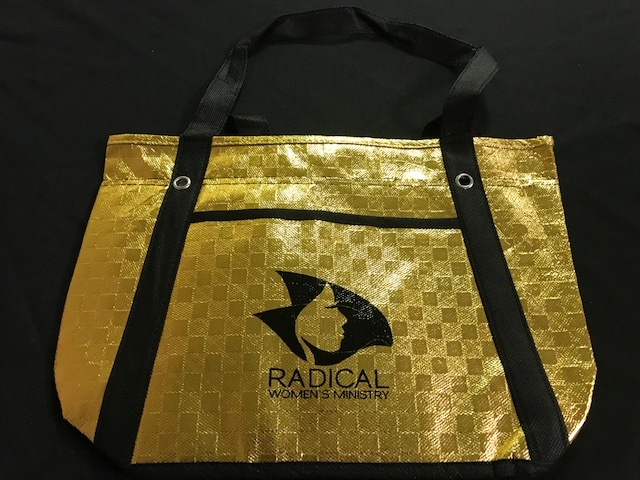 RWM20 Tote Bag - Metallic Gold