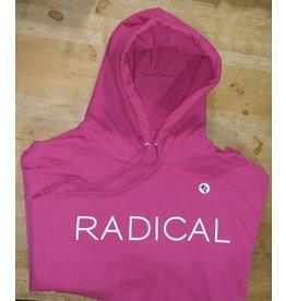 """""""RADICAL"""" Pink Pullover Hoodie"""