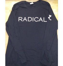 """RADICAL"" Black Long Sleeve T-Shirt"