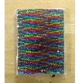 RWM20 Journal Rainbow Silver Sequin