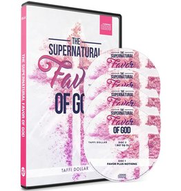 The Supernatural Favor of God - 3 CD Series