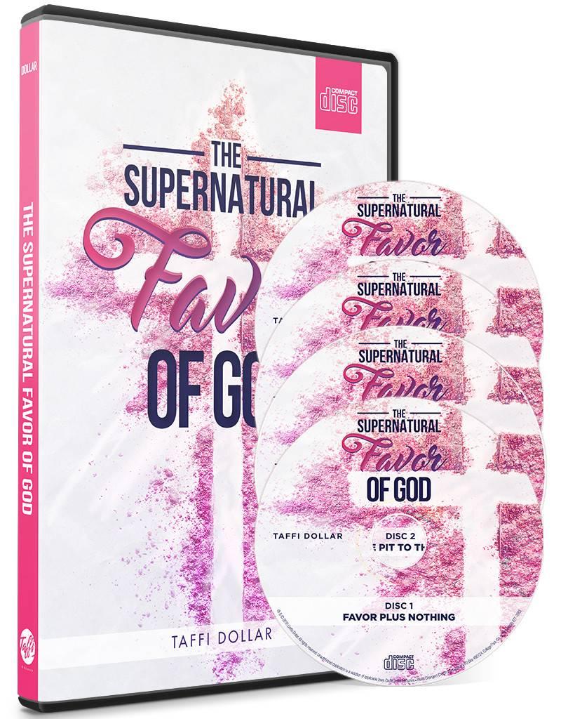 Supernatural Favor of God 3-CD Series