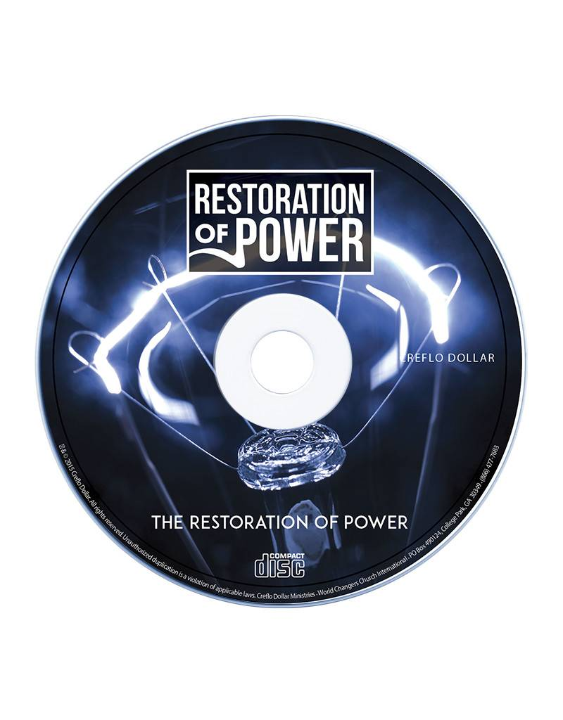 Restoration of Power: Single CD