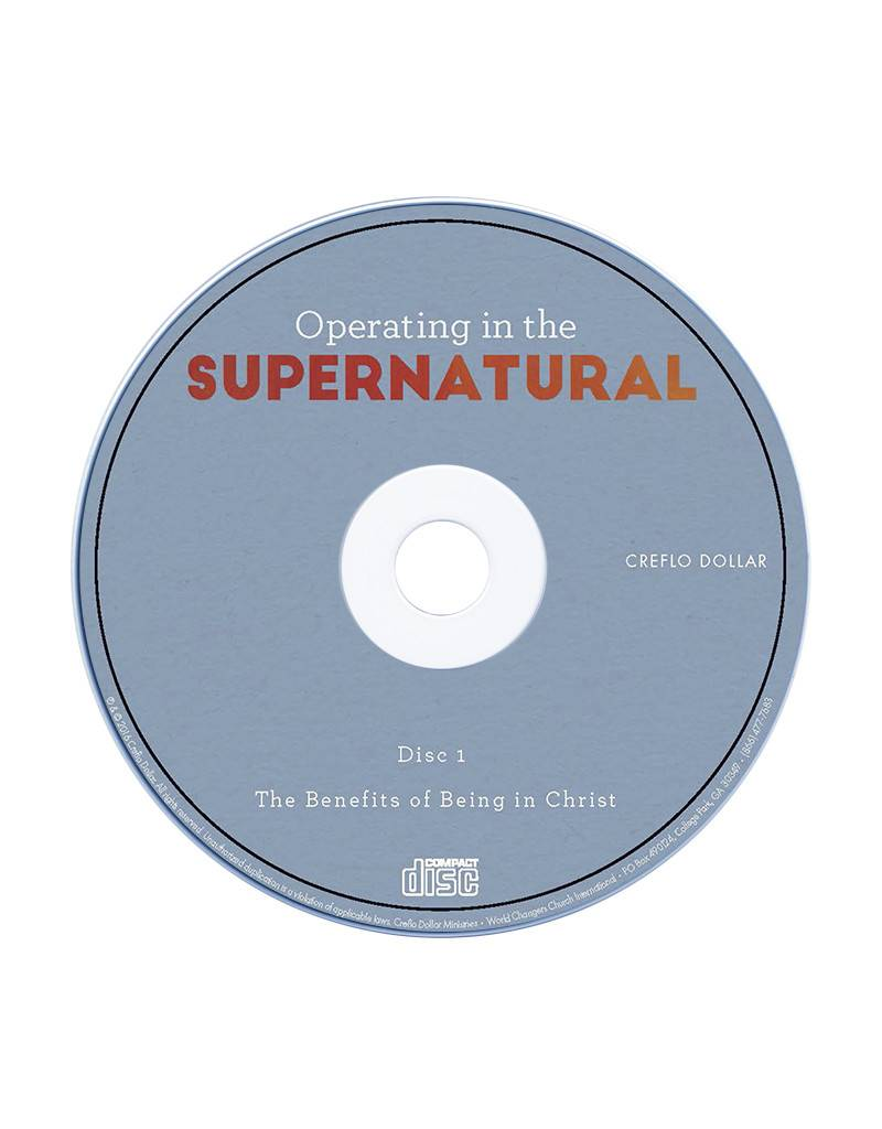 The Benefits of Being in Christ: Single CD