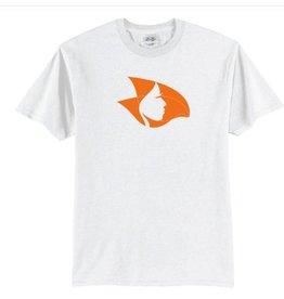 Radical Head T-Shirt White/Orange Medium