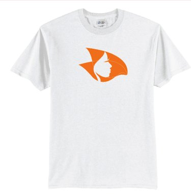 Radical Head T-Shirt White/Orange 2X-Large