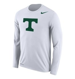 Nike New Nike Dri Fit L/S Tee White w/Small Power T