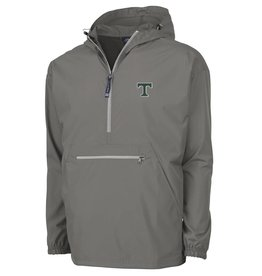 Charles River Men's Grey Pack and Go Pullover
