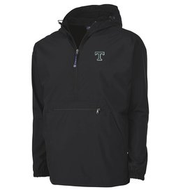 Charles River Men's Black Pack and Go Pullover