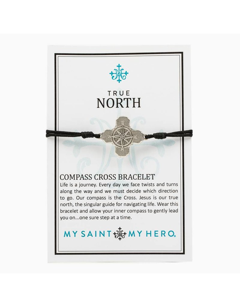 My Saint My Hero True North Compass Bracelet