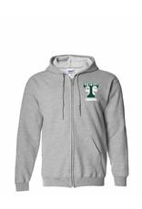 Digital Promotions Theatre Full Zip Grey Sweatshirt Embroidered