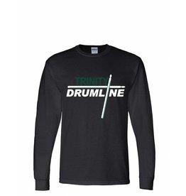 Digital Promotions Drumline Black Long Sleeve 50/50 Tee