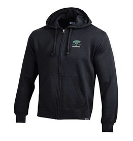Gear Full Zip Hoodie Big Cotton Black