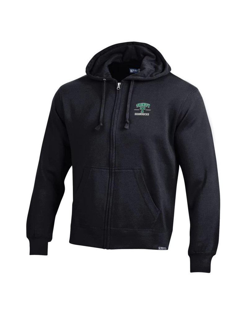Gear Final Sale Full Zip Hoodie Big Cotton Black