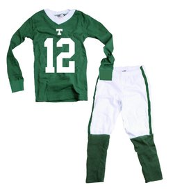 Wes & Willy Football Toddler Cotton Pajamas