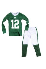 Wes & Willy Final Sale Football Pajamas