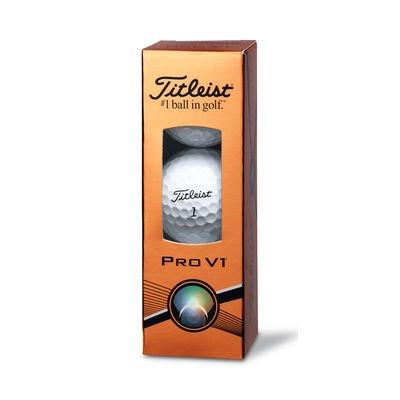Trinity Titleist Golf Balls  3 Ball Sleeve
