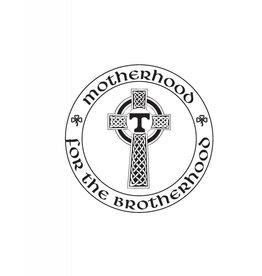 Digital Promotions Motherhood for the Brotherhood Sticker Decal