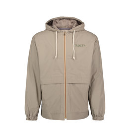 MV Sports Vintage Hooded Rain Jacket Khaki