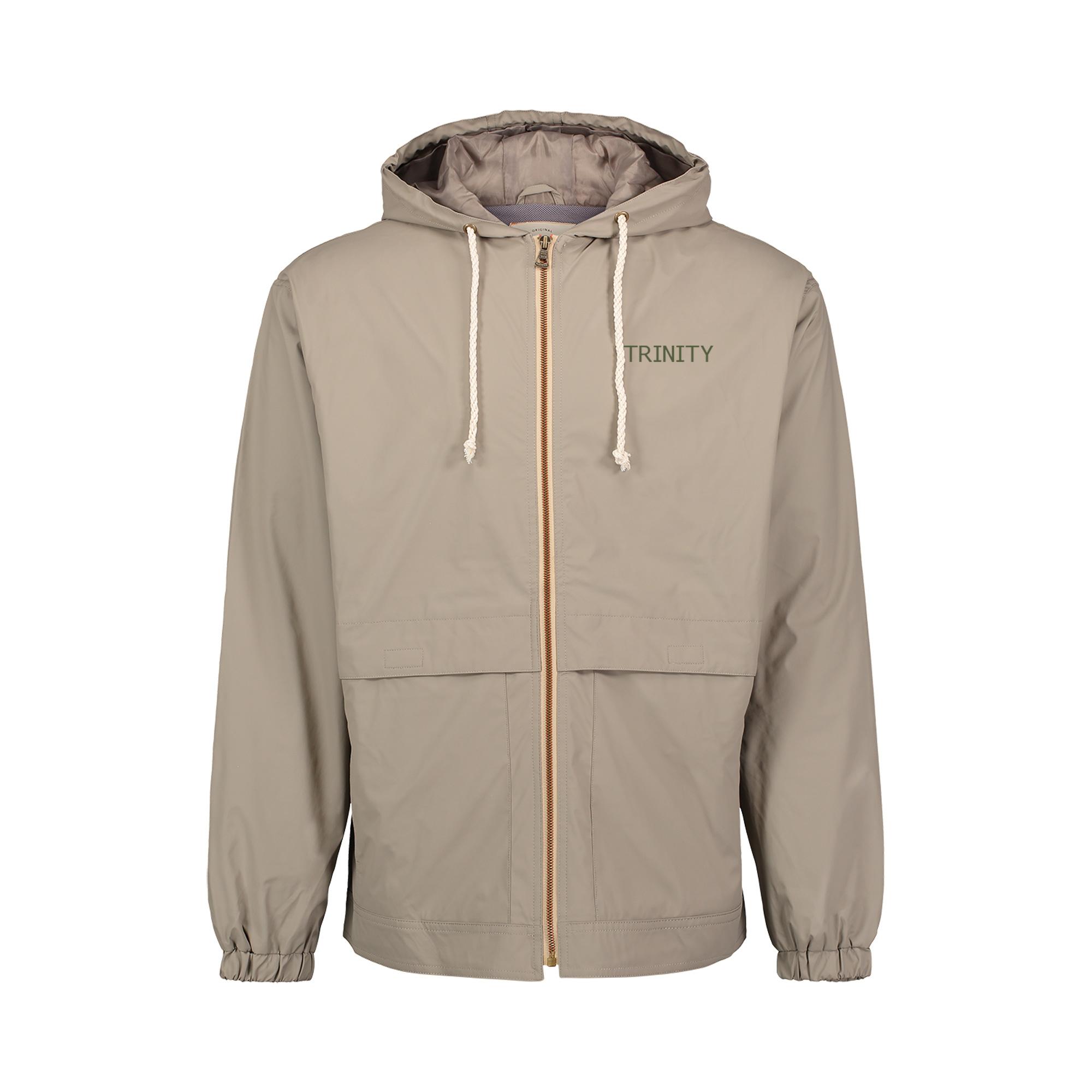 MV Sports Vintage Hooded Rain Jacket Khaki