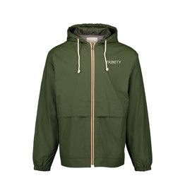 MV Sports Vintage Hooded Rain Jacket Green