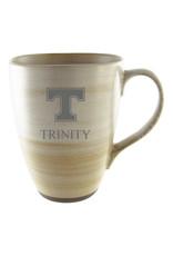 LXG Clay Ceramic Mug Tan Etched