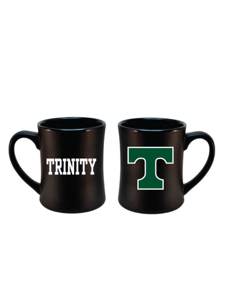 RFSJ Black Large Coffee Mug Power T with Trinity