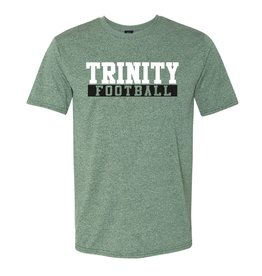 MV Sports New 2019 Football DrifFit Heather Green Tee