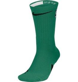 Nike Football Socks White, Green, and Black