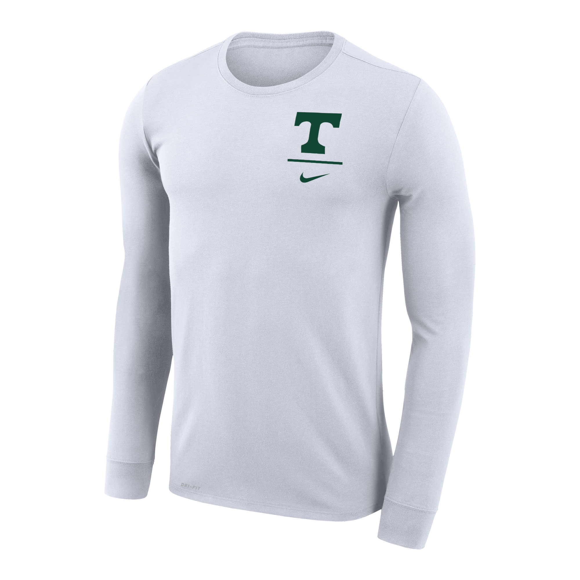 Nike Nike 2019 Dri fit Long Sleeve Left Chest White