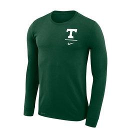 Nike Nike 2019 Dri Fit Long Sleeve Left Chest Green