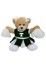 Mascot Factory Trinity Carly Bear with Cheer Outfit