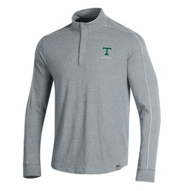 Under Armour Final Sale Under Armour Piped Charged Cotton 1/4 Zip Grey