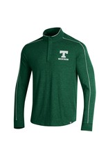 Under Armour Under Armour Piped Charged Cotton 1/4 Zip Green