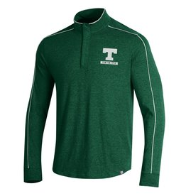 Under Armour Final Sale Under Armour Piped Charged Cotton 1/4 Zip Green