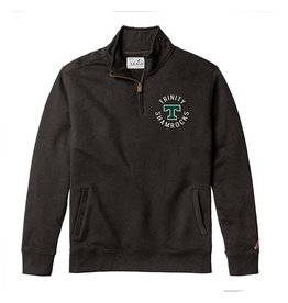 League League Stadium 1/4 Zip True Black