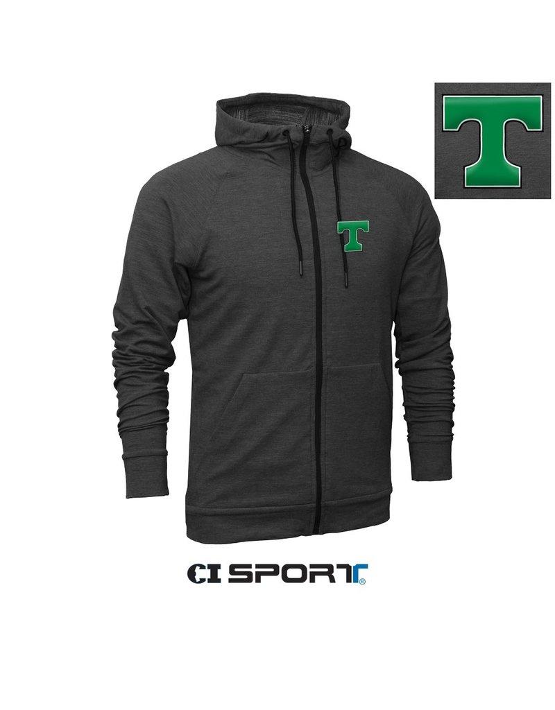 CDI SPORTS Sale Tri Blend FullZip Jacket